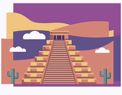 MEXICO AND CLOUDS // Animation