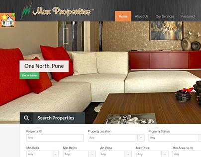 Premium Real Estate Website