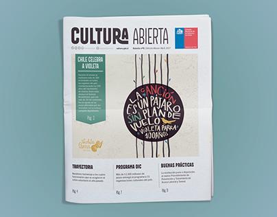 Periódico Cultura abierta