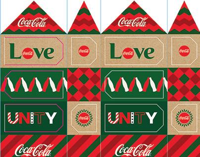 Christmas zone for Coca-Cola Երջանկության գործարան