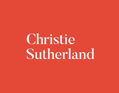 Christie Sutherland: Brand Identity