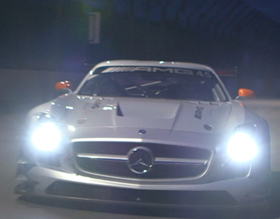 "Mercedes AMG ""Merry Christmas"""