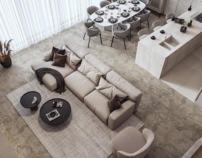 Baku Penthouse 604
