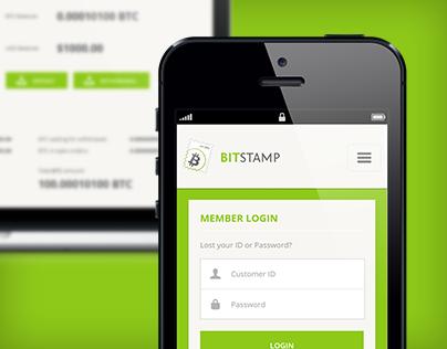 BitStamp.net - 2013 Responsive redesign