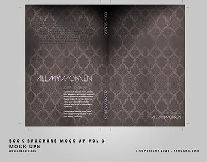 Book Brochure Mock Up Vol 3