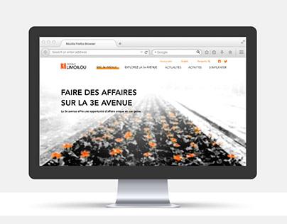 3e Avenue Limoilou - Identité visuelle
