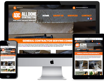 All Done Contracting Website