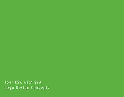 Tour KSA Logo Design concepts.