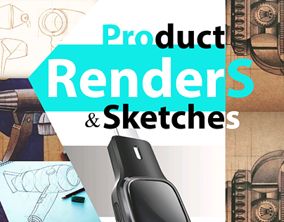 Product Renders and Sketches