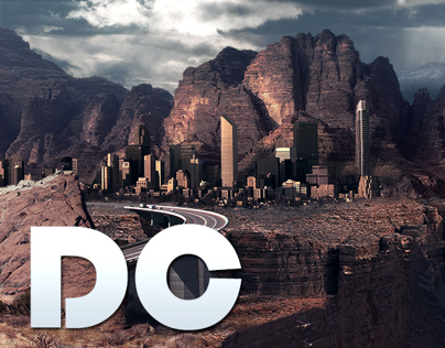 Desert City (Digital Matte Painting)