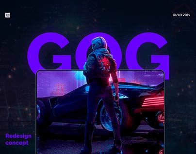 GOG COM - Redesign concept