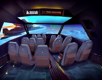 4D Theater Concept illustration