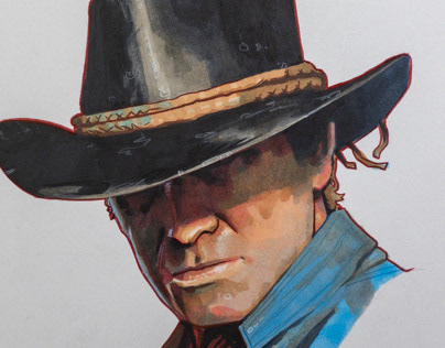 Arthur Morgan — Copic Markers