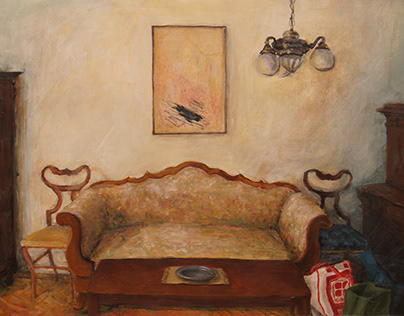 The paintings of a view of Czech household