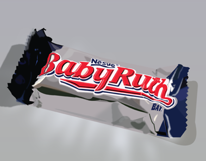 BABY RUTH PRODUCT ILLUSTRATION