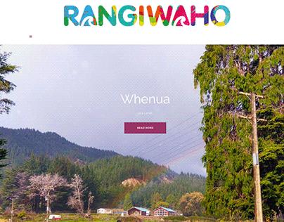 Rangiwaho Marae website