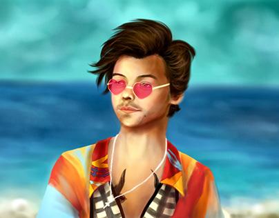 Harry styles fanart
