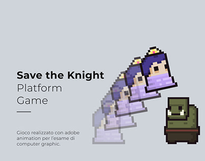 Save the knight   Platform game
