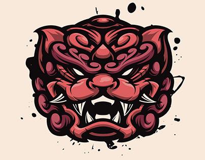 Komainu Mascot