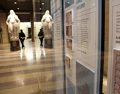 Smithsonian Postal Museum | Franklin Foyer exhibitions
