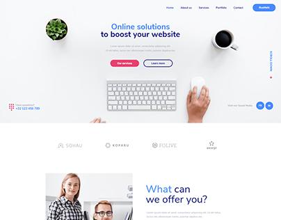 Agency - WordPress