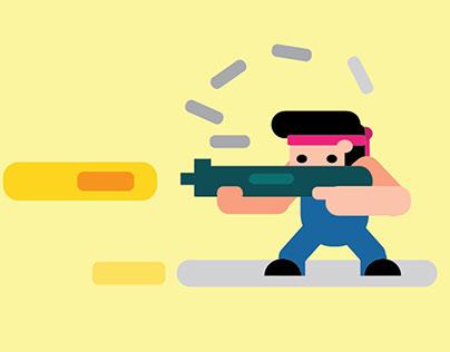 Shooter Illustration