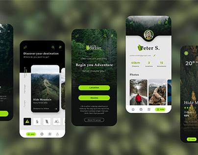 Ecofriendly Turism App Design
