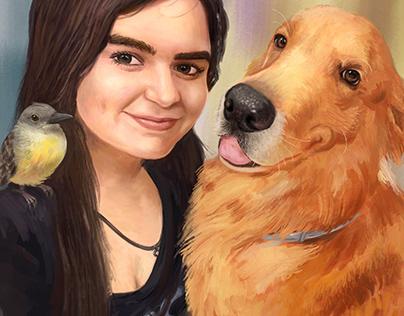 Jhenifer and her Pets