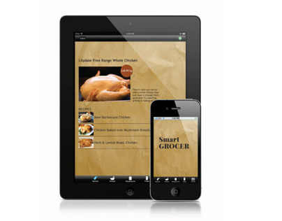 SmartGrocer App Design