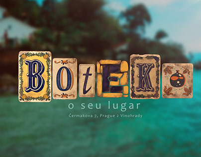 Logo, illustrations and much more for a Brazilian bar