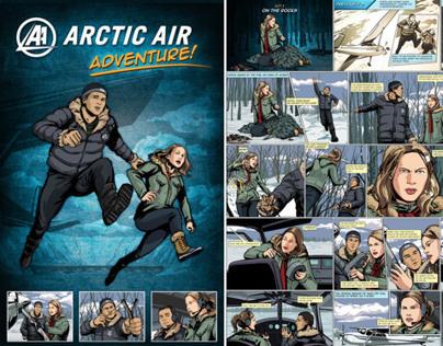 Arctic Air | Digital Comic