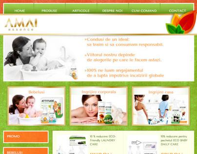 Amai Essence Website
