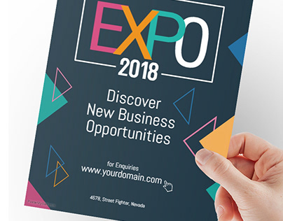 Business Expo Event Poster Flyer Template