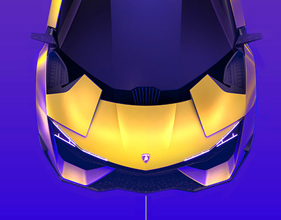 LAMBORGHINI TRONO - 3D Alias & Visualization