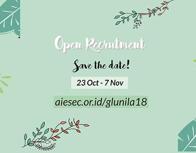 Open Recruitment AIESEC Unila
