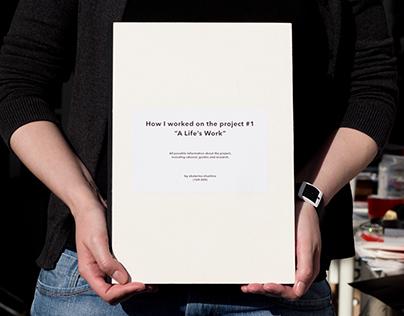 'Adrian Frutiger' binder book