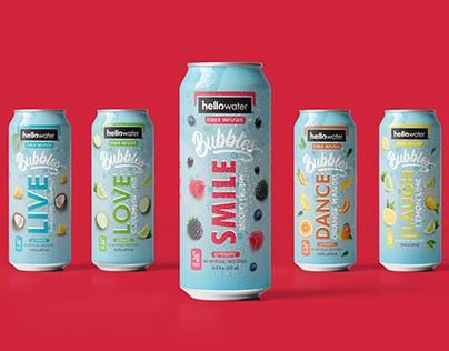 Flavored Water Packaging Design