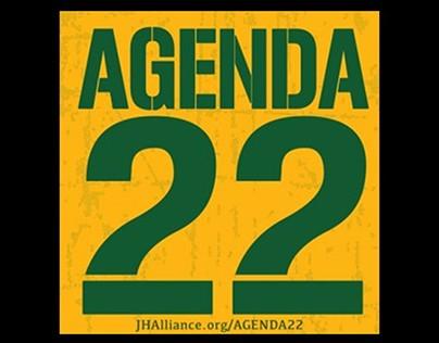 AGENDA 22 Logo Design