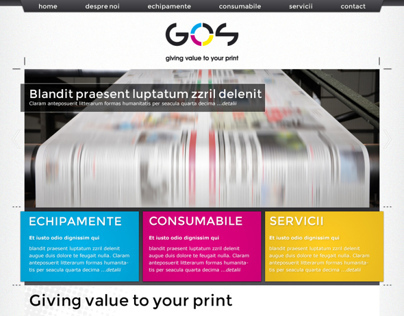 Graphic Open System website