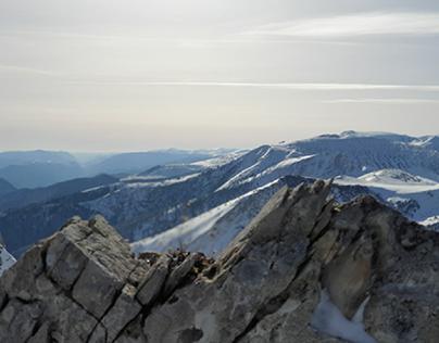 Mountain lover  breathing fresh air time