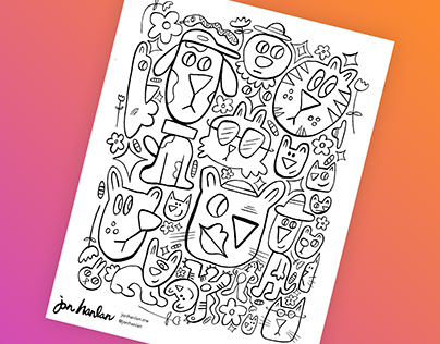 Free Colouring Pages 🖍✨