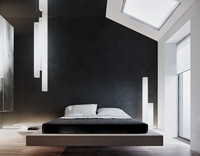Bedroom in New York Concept House - 3