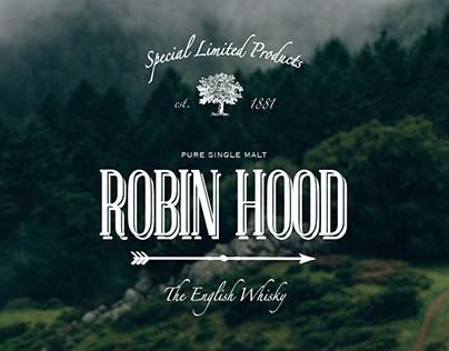 ROBIN HOOD : English Whisky.