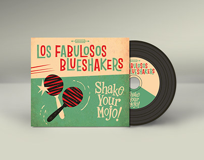 Los Fabulosos Blueshakers - Album Cover