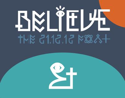 Believe - Typeface