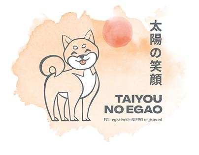 Logo for shiba inu kennel