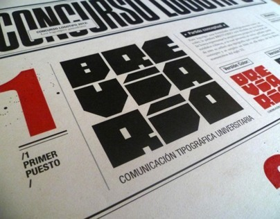 Breviario Magazine - Editorial Design