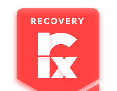 Recovery Rx Mobile App Prototype & Branding/Style Guide