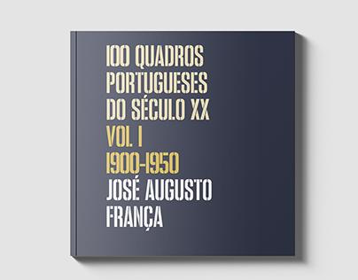 100 Quadros Portugueses do Séc. XX // Editorial Design