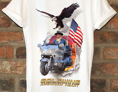American Heart, tee shirt.